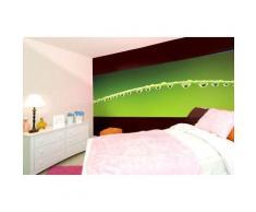 ROLLER Fototapete, Mustertapete - 4-teilig - Tropfen - grün - 368x127 cm