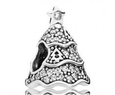 Weihnachtsbaum Charm Pandora 925er Silber 791765CZ