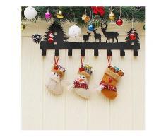 Weihnachtssüßigkeitstasche Strumpf Mini Weihnachtsmann Socke Geschenk Tasche Flitter Weihnachtsbaum Ornamente Decorati-Weihnachten Verkauf