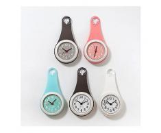 Badezimmer Dusche Kieselsäure Wanduhr Wasserdichte Saugnäpfe Uhr Home Küche Kühlschrank Decor Hängenden Uhr-Bad Uhr