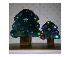 Kreative Weihnachten LED Leuchtende Weihnachtsbaum Kissen Plüschtiere Kinder Geschenke Home Party Decor-Funny Pillows