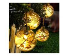 Weihnachten LED Lichter Weihnachtsbaum Bulb Ball Licht Hang Ornament Home Festival Decor-Weihnachten Verkauf
