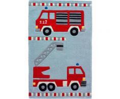 Kinderteppich Feuerwehr in rot von bonprix