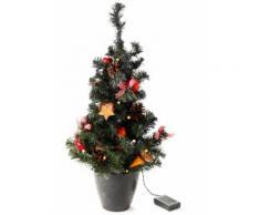 LED-Weihnachtsbaum, natur in rot von bonprix