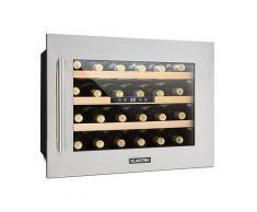 Klarstein - Klarstein Vinsider 24D Weinkühlschrank Einbau 1 Kühlzone 24 Flaschen Edelstahl, B