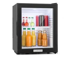 Klarstein - Klarstein MKS-12 Minibar Mini-Kühlschrank Klasse A 24L 0dB Glastür schwarz, B