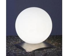 Epstein Design Snowball 30 Bodenleuchte mit Fuß Ø 30cm, edelstahl/satiniert 73544, EEK: A++. Diese Leuchte ist geeignet für Leuchtmittel der Energieklassen: A++, A+, A, B, C, D, E.