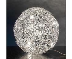Catellani & Smith Fil de Fer 230V Bodenleuchte mit Dimmer Ø 120 cm, aluminium F12230, EEK: A+. Diese Leuchte ist geeignet für Leuchtmittel der Energieklassen: A+, A, B, C, D, E. Die Leuchte wird verkauft mit einem Leuchtmittel der Energieklasse: D.