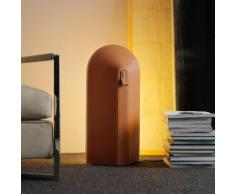FontanaArte Odeon Bodenleuchte B: 30 H: 64 T: 13.5 cm, orange 4255AR, EEK: A++. Diese Leuchte ist geeignet für Leuchtmittel der Energieklassen: A++, A+, A, B, C, D, E.
