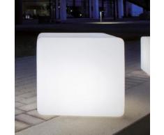 Epstein Design Würfel 35 Bodenleuchte mit Bewegungsmelder B: 35,5 H: 35,5 cm, satiniert 60365, EEK: A++. Diese Leuchte ist geeignet für Leuchtmittel der Energieklassen: A++, A+, A, B, C, D, E.