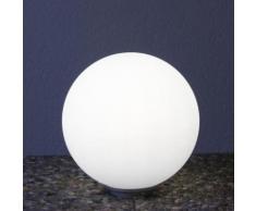 Epstein Design Snowball 30 ortsfeste Bodenleuchte mit Dämmerungsschalter Ø 30cm, satiniert 73255, EEK: A++. Diese Leuchte ist geeignet für Leuchtmittel der Energieklassen: A++, A+, A, B, C, D, E.