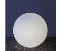 Epstein Design Snowball 30 ortsveränderliche RGBw LED Bodenleuchte mit Dimmer Ø 30cm, sat. 73004, EEK: A+. Diese Leuchte enthält eingebaute LED-Lampen. A++ (LED), A+ (LED), A (LED). Die Lampen können in der Leuchte nicht ausgetauscht werden.