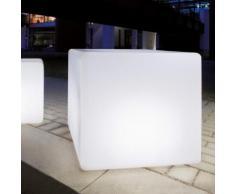 Epstein Design Würfel 45 Bodenleuchte mit Dämmerungsschalter B: 46 H: 46 cm, satiniert 60475, EEK: A++. Diese Leuchte ist geeignet für Leuchtmittel der Energieklassen: A++, A+, A, B, C, D, E.