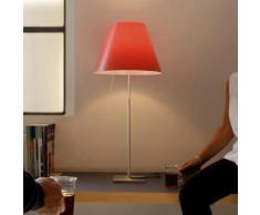 Luceplan Costanza D13 i.f. Tischleuchte, Ein-/Aus-Schalter Ø40 H:80cm alu/johannisbeerrot 1D13N=01F020+9D1301511708, EEK: A++. Diese Leuchte ist geeignet für Leuchtmittel der Energieklassen: A++, A+, A, B, C, D, E.