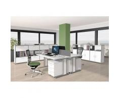 ARTLINE Büromöbel Set, 2 Arbeitsplätze 400x400