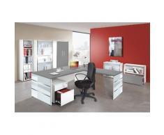 LUGANO Büromöbel Set, 1 Arbeitsplatz 500x550