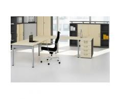 GERAMÖBEL Büromöbel Set, 1 Arbeitsplatz 340x340cm