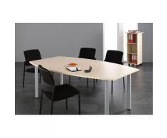 GERAMÖBEL Büromöbel Set, Konferenztisch 200cm, 350x350cm