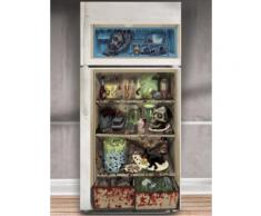 Horror-Kühlschrank-Folie Halloween-Party-Deko bunt 85x165cm