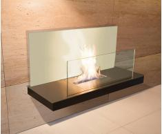 Radius Design Radius Wall Flame 2 Edelstahl