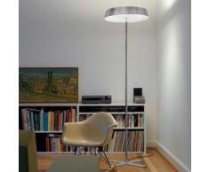 BELUX Koi-10 LED Stehleuchte mit Dimmer Ø 57.6 H: 199.5 cm, chrom 51003530-10-LED-TD-CR-30K, EEK: A+. Diese Leuchte enthält eingebaute LED-Lampen. A++ (LED), A+ (LED), A (LED). Die Lampen können in der Leuchte nicht ausgetauscht werden.