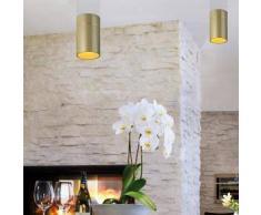 Oligo TUDOR L LED Deckenleuchte Ø 12 H: 18,5 cm, champagner 41-864-35-42, EEK: A+. Diese Leuchte enthält eingebaute LED-Lampen. A++ (LED), A+ (LED), A (LED). Die Lampen können in der Leuchte nicht ausgetauscht werden.
