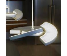 Oligo TRINITY LED Pendelleuchte mit Tastdimmer Ø 25 H: 200 cm, chrom matt 42-896-10-06, EEK: A+. Diese Leuchte enthält eingebaute LED-Lampen. A++ (LED), A+ (LED), A (LED). Die Lampen können in der Leuchte nicht ausgetauscht werden.