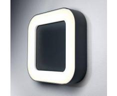 Osram Endura Style Square LED Deckenleuchte / Wandleuchte B: 20,2 H: 4,5 T: 20,2 cm, dunkelgrau 4058075031692, EEK: A+. Diese Leuchte enthält eingebaute LED-Lampen. A++ (LED), A+ (LED), A (LED). Die Lampen können in der Leuchte nicht ausgetauscht werden.