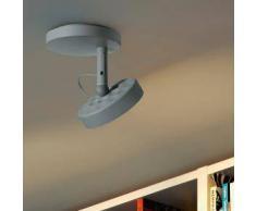 BELUX U-TURN-25-TD-GR-GR LED Deckenleuchte dimmbar Ø 15.7 H: 17 cm, telegrau 51003817-TD-GR-GR, EEK: A+. Diese Leuchte enthält eingebaute LED-Lampen. A++ (LED), A+ (LED), A (LED). Die Lampen können in der Leuchte nicht ausgetauscht werden.