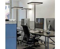 BELUX KARO-12 LED Stehleuchte mit Dimmer asymmetrisch B: 54 H: 192.7 T: 54 cm, schw. 51003902-40K-TD-SW, EEK: A+. Diese Leuchte enthält eingebaute LED-Lampen. A++ (LED), A+ (LED), A (LED). Die Lampen können in der Leuchte nicht ausgetauscht werden.