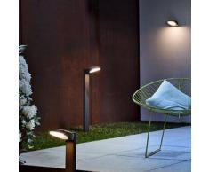Osram Endura Style Spot Oval LED Pollerleuchte B: 24,8 H: 90 T: 15,1 cm, dunkelgrau 4058075033177, EEK: A+. Diese Leuchte enthält eingebaute LED-Lampen. A++ (LED), A+ (LED), A (LED). Die Lampen können in der Leuchte nicht ausgetauscht werden.