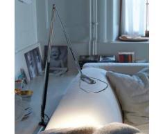 BELUX LIFTO-02-LED-SW LED Tischleuchte mit Tischzwinge L: 61,5+50 cm, chrom/schwarz 51000103-02-SW+51900401, EEK: A+. Diese Leuchte enthält eingebaute LED-Lampen. A++ (LED), A+ (LED), A (LED). Die Lampen können in der Leuchte nicht ausgetauscht werden.