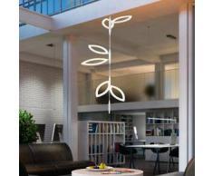 Oligo FLAVIA LED Pendelleuchte Set 3x2 Blätter Prismatik offen H: 300 cm, weiß matt 52-870-10-21, EEK: A+. Diese Leuchte enthält eingebaute LED-Lampen. A++ (LED), A+ (LED), A (LED). Die Lampen können in der Leuchte nicht ausgetauscht werden.