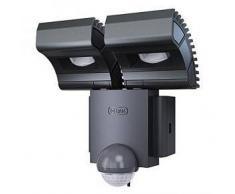 Osram Noxlite LED Spot Sensor 2x8W Wandleuchte B: 18 H: 17 T: 9 cm, grau 4008321981998, EEK: A+. Diese Leuchte enthält eingebaute LED-Lampen. A++ (LED), A+ (LED), A (LED). Die Lampen können in der Leuchte nicht ausgetauscht werden.