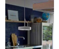 BELUX U-TURN-34-S3-GR-GR LED Pendelleuchte Ø 15.7 H: 300 cm telegrau 51003811-S3-GR-GR, EEK: A+. Diese Leuchte enthält eingebaute LED-Lampen. A++ (LED), A+ (LED), A (LED). Die Lampen können in der Leuchte nicht ausgetauscht werden.