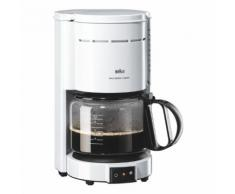 Kaffeemaschine »KF47« in Weiß, BRAUN, 19.5x36x30 cm