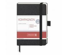 Brunnen Notizbuch »Kompagnon« Weiß