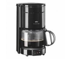 Kaffeemaschine »KF47« in Schwarz, BRAUN, 19.5x36x30 cm