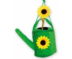 Gärtnerin Handtasche Giesskanne grün-gelb