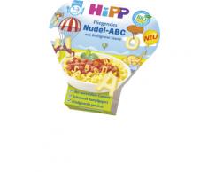 Hipp Kinderteller Fliegendes Nudel-ABC mit Bolognese-Sauce ab 1 Jahr