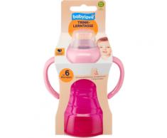 babylove Trinklerntasse 260ml, rosa