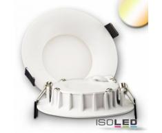LED Downlight konisch weiß 102mm 8W 460lm weißdynamisch dimmbar EEK:A