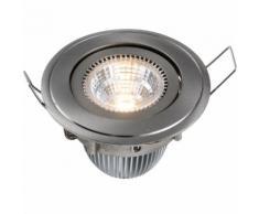 LED Einbaustrahler 3er Set rund COLORADO warmweiß 3 x 570lm 8W COB EEK:A