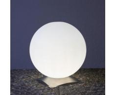 Epstein Design Snowball 60 Bodenleuchte mit Fuß Ø 60cm, edelstahl/satiniert 76544, EEK: A++. Diese Leuchte ist geeignet für Leuchtmittel der Energieklassen: A++, A+, A, B, C, D, E.