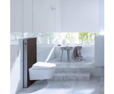 Geberit Monolith Sanitärmodul für Wand-WC H: 101 cm Glas umbra 131022SQ5