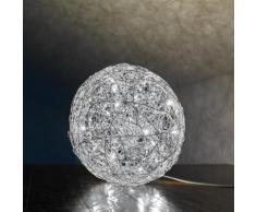 Catellani & Smith Fil de Fer 12 V Bodenleuchte mit Dimmer Ø 50 cm, aluminium F5L, EEK: A+. Diese Leuchte ist geeignet für Leuchtmittel der Energieklassen: A++, A+, A. Die Leuchte wird verkauft mit einem Leuchtmittel der Energieklasse: A+.