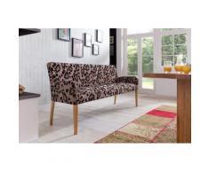 ALFO Polsterbank Sitzbank 143 cm Stoff / Textil Beine aus Buche oder Eiche