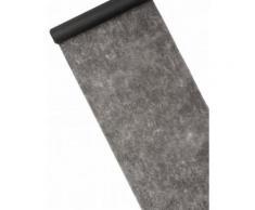 Schlichter Tischläufer Vlies schwarz 10m