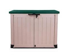 Keter Geräteschuppen Mülltonnenbox MAX grün