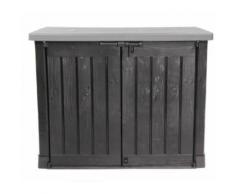 Keter Mülltonnenbox Gartenbox Max Kunststoff anthrazit